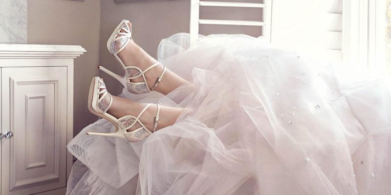 Jimmy Choo Shoes at Pendulum Hotel Weddings