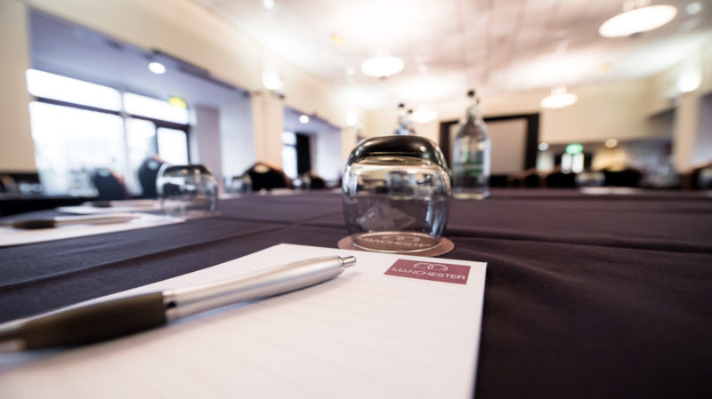 Meetings and conferences at Pendulum, Manchester