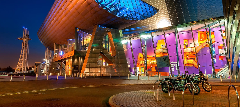 Manchester Media City - Lowry - Pendulum Hotel