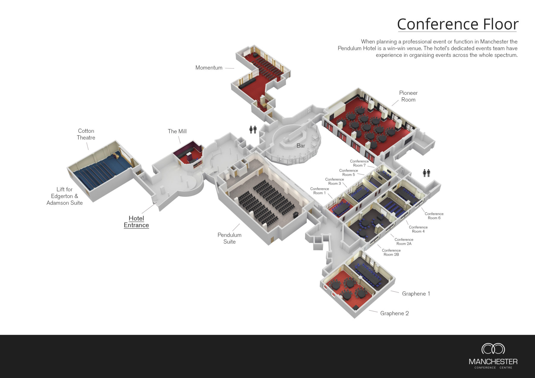 Meeting & Conferences - Pendulum Hotel - Conference Hotel